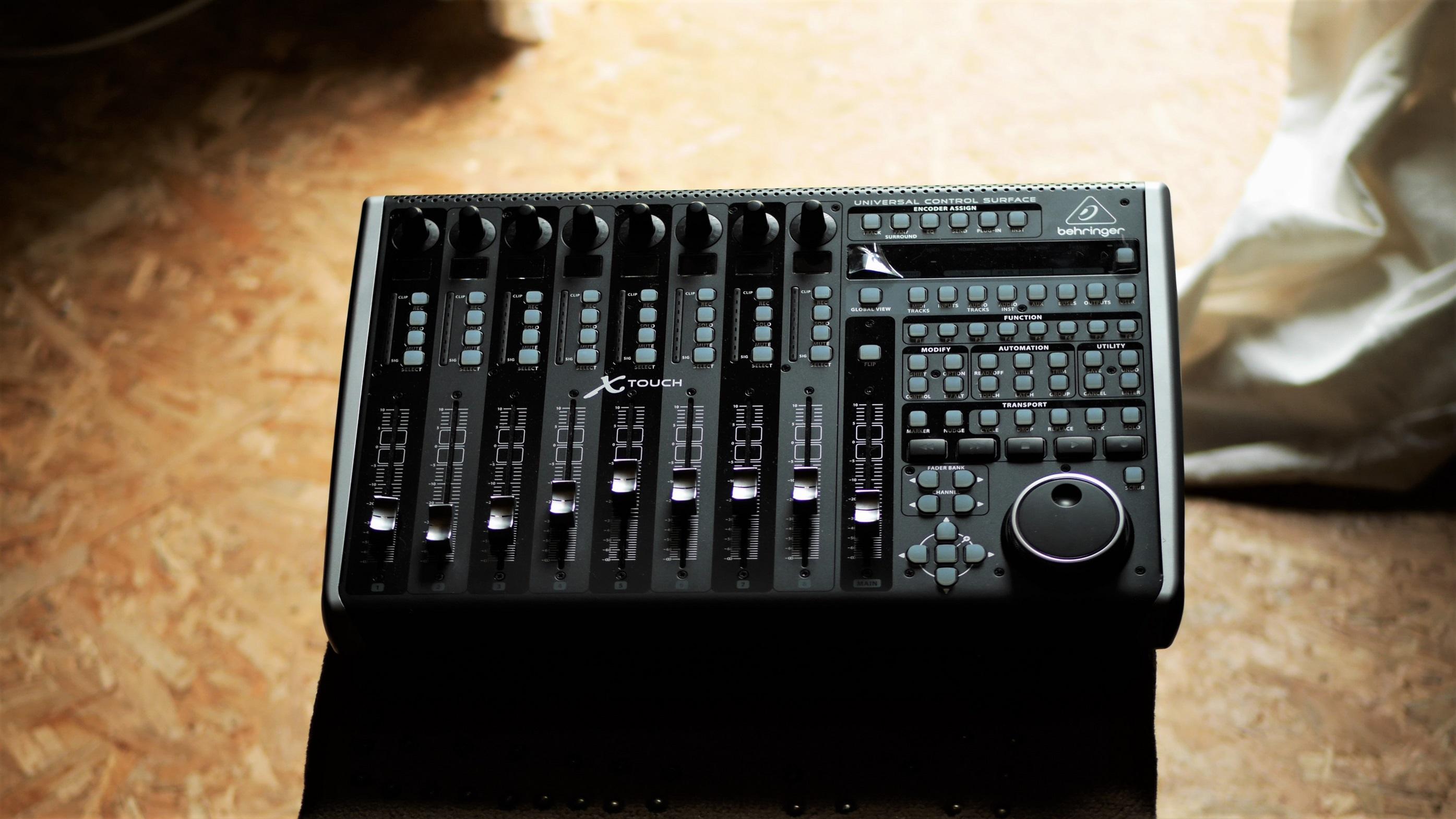 studio la boîte à meuh - X-touch